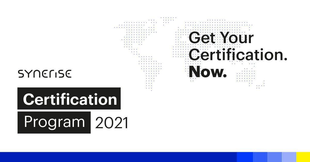 Synerise Certification Program