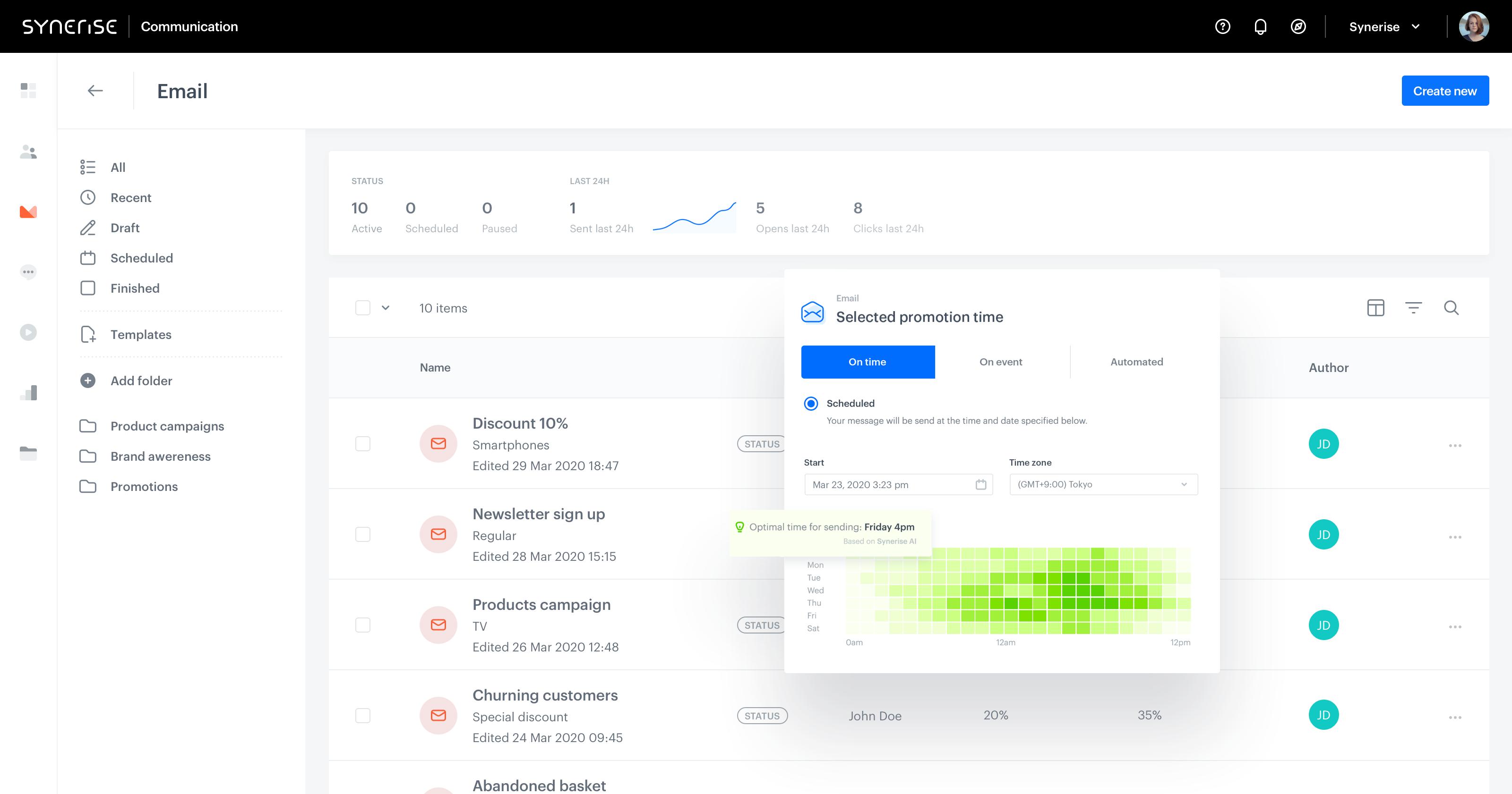 Marketing Platform - Synerise