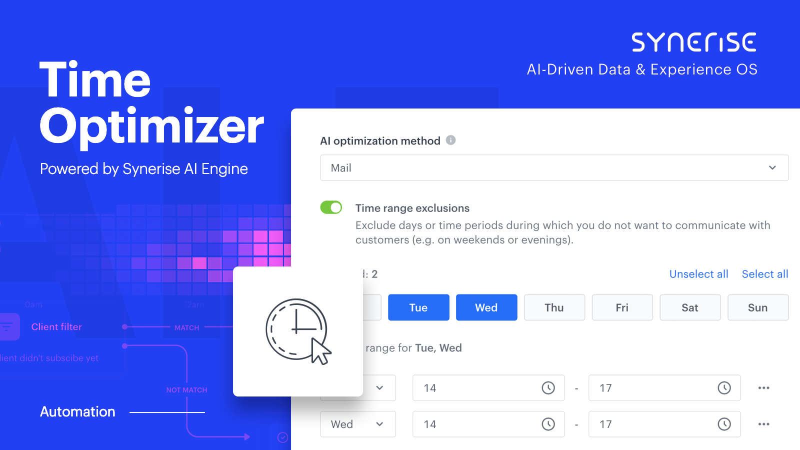 New Time Optimizer puts the power of AI