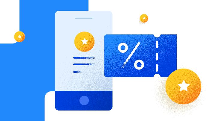 Loyalty programs in a mobile app