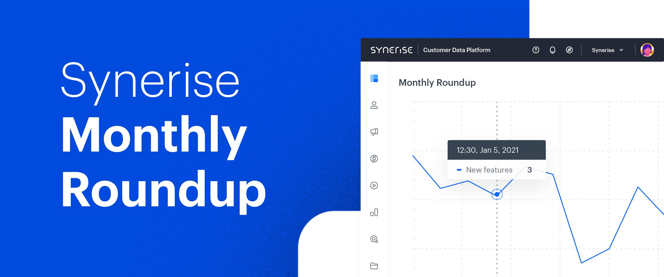 2nd quarter of 2021 -  Synerise Roundup